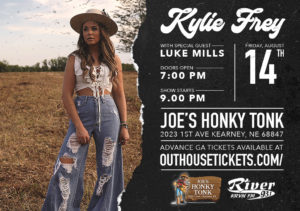 Kylie Frey with special guest Luke Mills @ Joe's Honky-Tonk