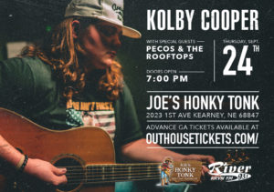 Kolby Cooper with Pecos & the Rooftops @ Joe's Honky-Tonk