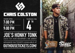 Chris Colston @ Joe's Honky-Tonk