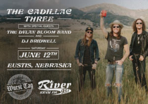 The Cadillac Three with the Dylan Bloom Band & DJ Bridwell @ Wurst Tag