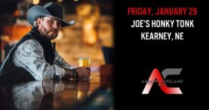 Aaron Copeland with special guest Brady James @ Joe's Honky-Tonk