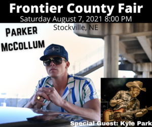 Parker McCollum with special guest Kyle Park @ Frontier County Fair
