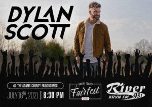 Dylan Scott @ Adams County Fairfest