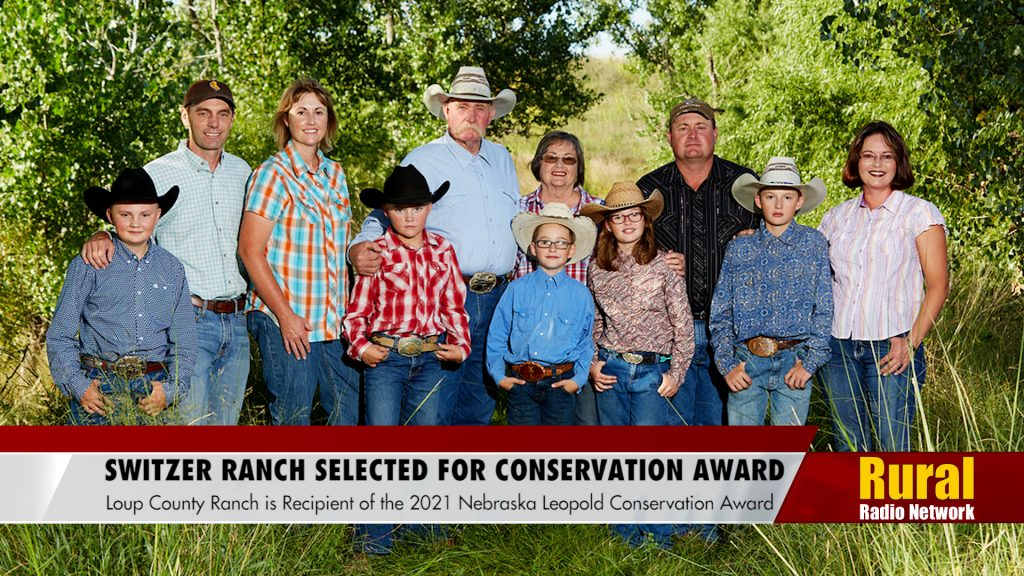 Switzer Ranch receives Nebraska Leopold Conservation award