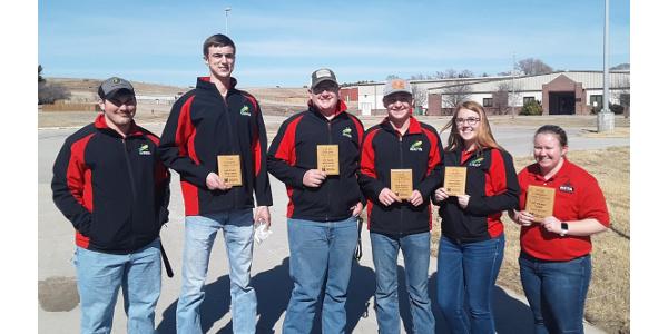 NCTA hosts, wins regional collegiate crops judging contest