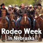 Ricketts goes horseback, proclaims 'Rodeo Week' in Nebraska