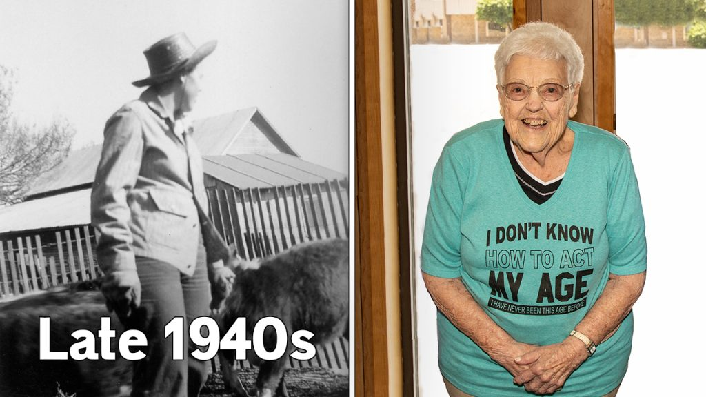 Women in Agriculture: Experiencing 93 years of agricultural changes