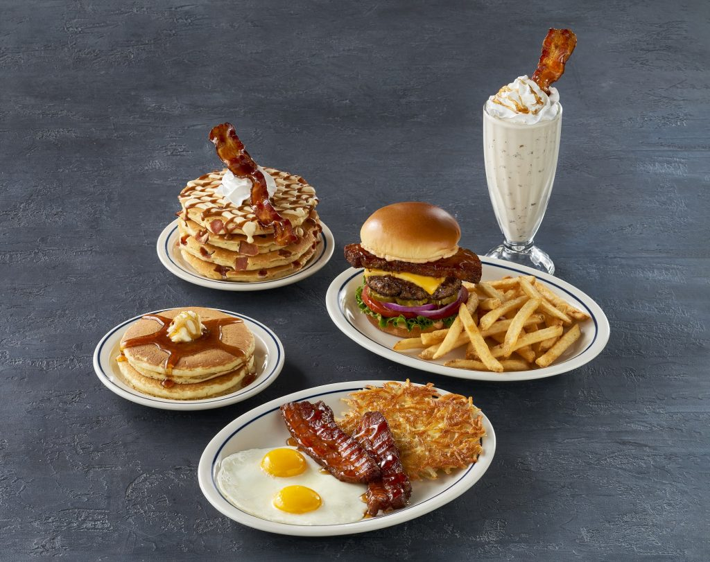 IHOP launches Bacon Obsession Menu with National Pork Board