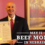 Ricketts issues 'Beef Month' proclamation, promotes new passport program