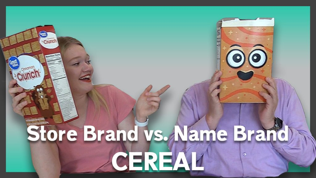 Store Brand vs. Name Brand Cereal | Friday Five | May 14, 2021