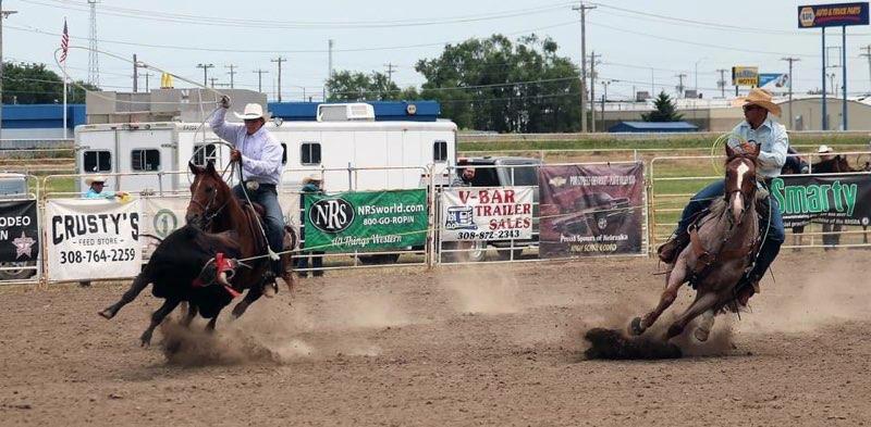 Nebraska All-Around Cowboy sets sights on winning a national title