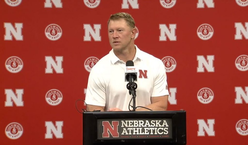 Scott Frost Press Conference | | Nebraska vs. Illinois | August 23, 2021