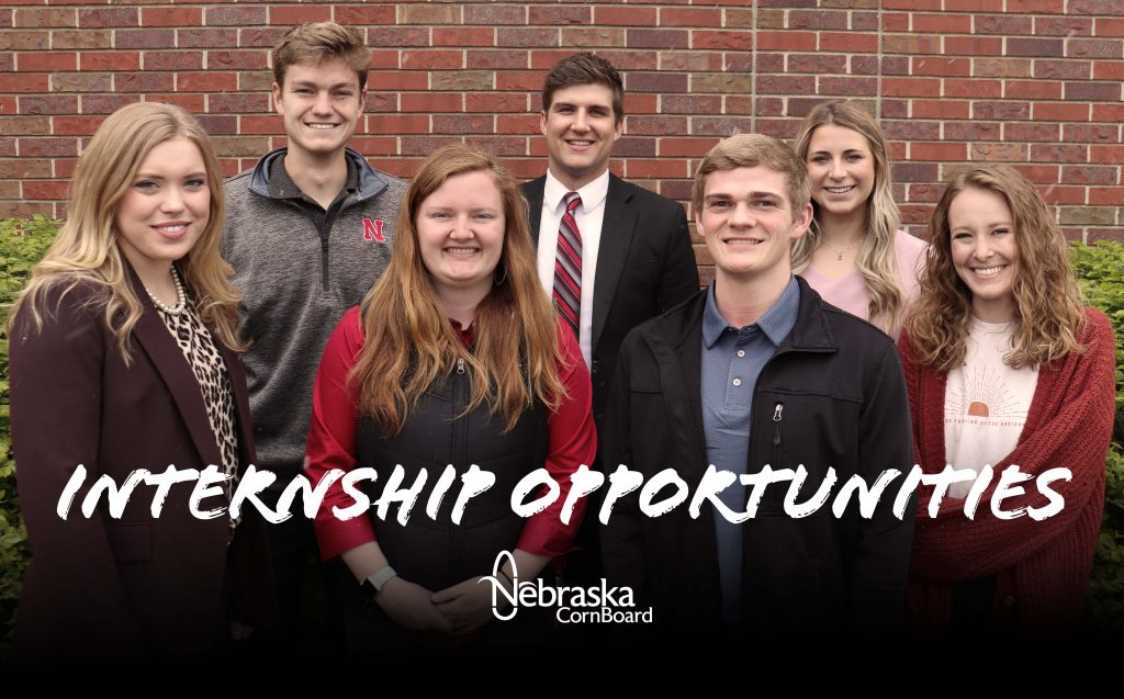 Nebraska Corn is seeking six college students for annual internship program