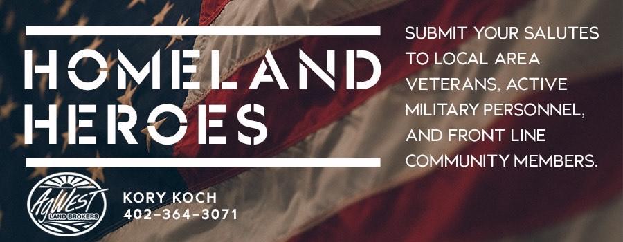 Homeland Heroes sponsored by Kory Koch