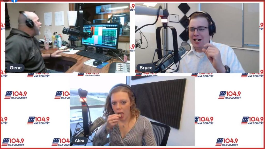 Salty Licorice Challenge | Try Day| 104.9 Max Country