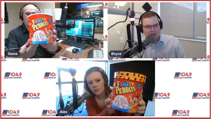Cereal and ice cream? We're trying it! | Try Day | 104.9 Max Country