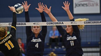 CUNE VB: Snakebit Bulldogs fall in five to No. 18 Dordt