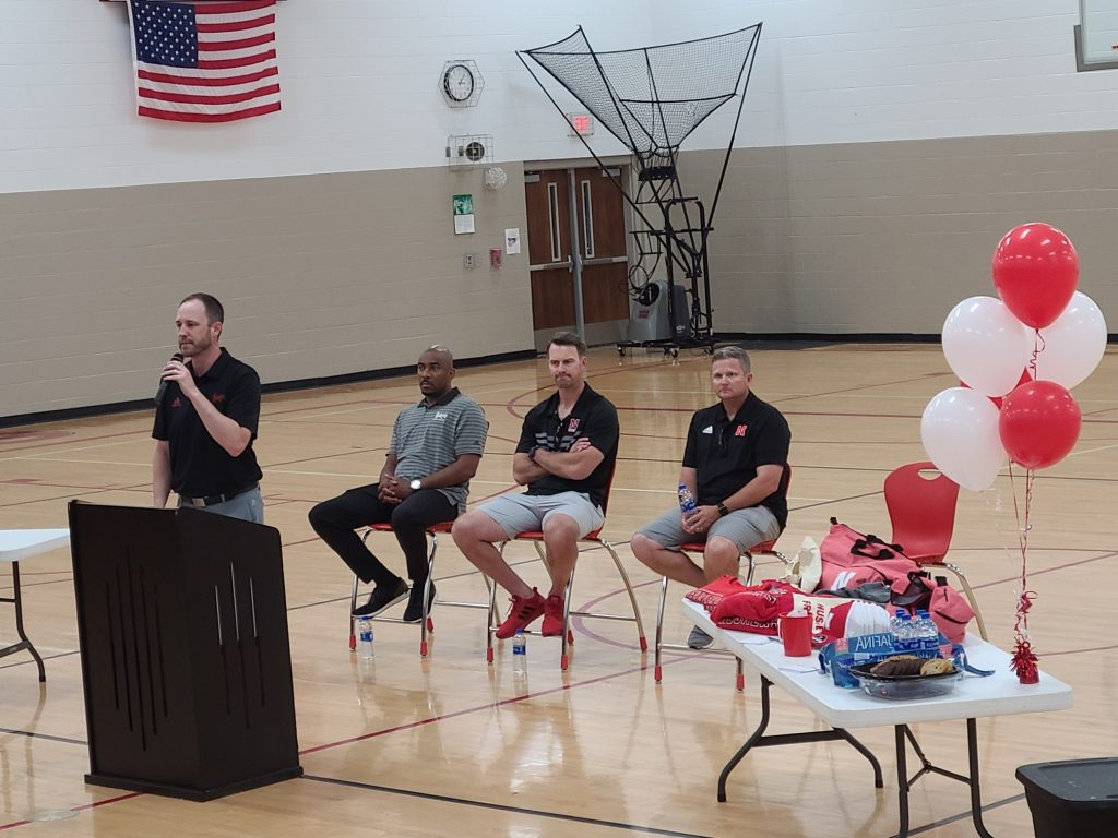 Big Red Blitz Tour Stops in West Point