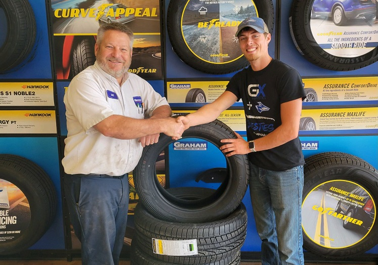 Stanton Man Wins Soy Tire Giveaway