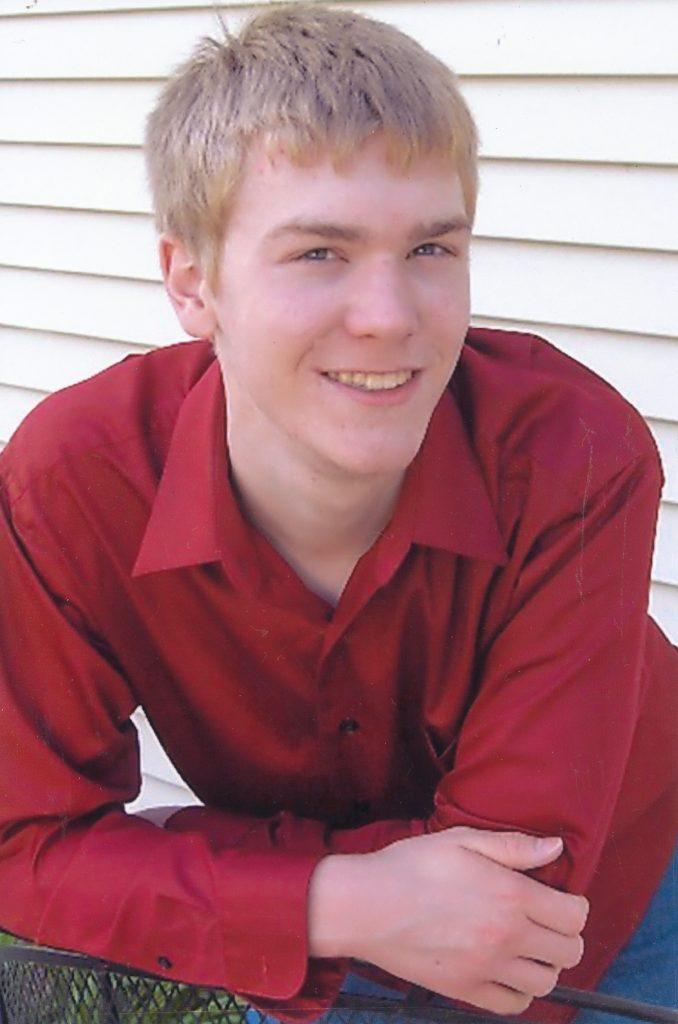 Travis Ritter, age 28, of Norfolk, Nebraska