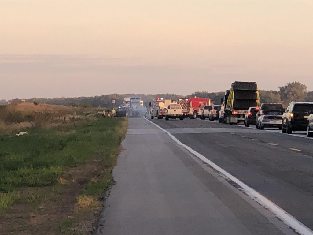 Accident near Wisner temporarily closes Highway 275