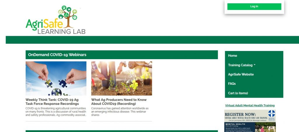 Webinar – Lessons learned in COVID-19 prevention efforts among ag workers & employees