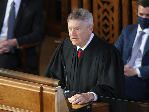 Chief Justice Focuses on Pandemic Response, Access to Justice