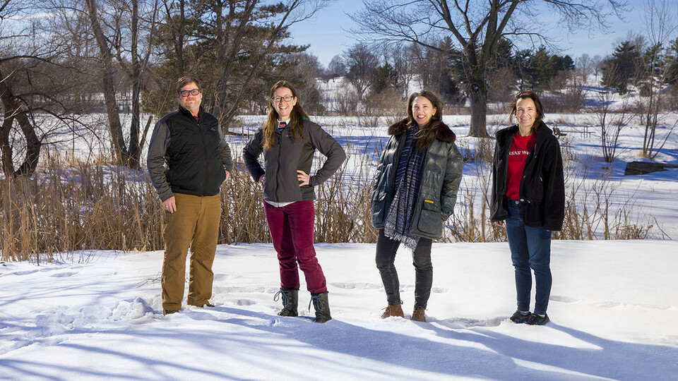 Husker Team Leading $6M Project to Study Waterways' Changing Ecology