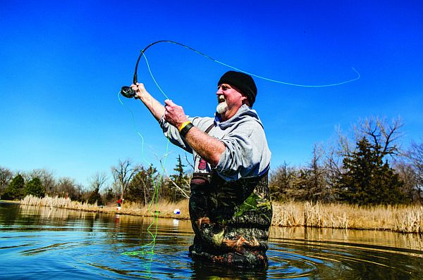(COLUMN) Get ready now for spring trout fishing