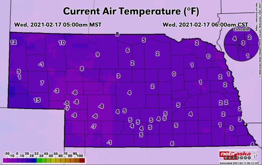 Gradual warming trend expected across the region