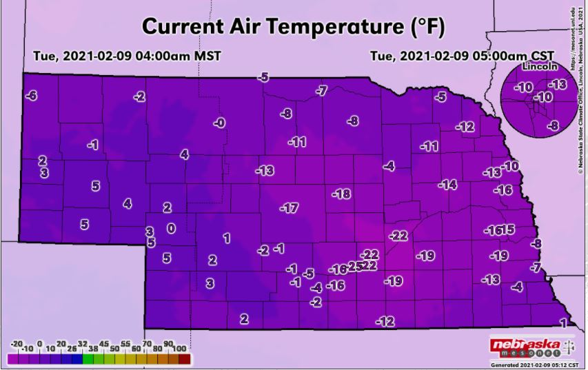 NWS: Wintry week featuring an arctic air mass