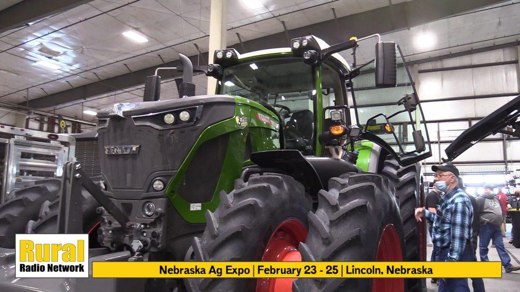 Fendt Tractors and IDEAL Combine on Display   Nebraska Ag Expo Video Spotlight   2021