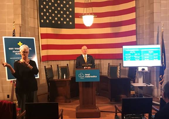 Gov. Ricketts, DHHS Leaders Outline the Next Phase of the State's Coronavirus Vaccination Plan