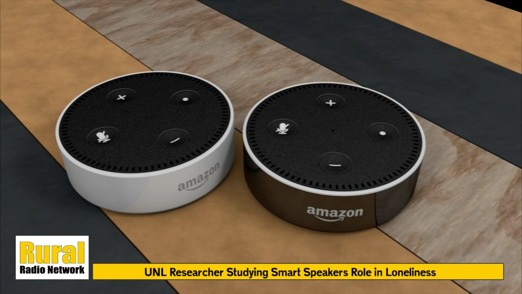 UNL Researchers Studying How Smart Speakers Can Combat Loneliness