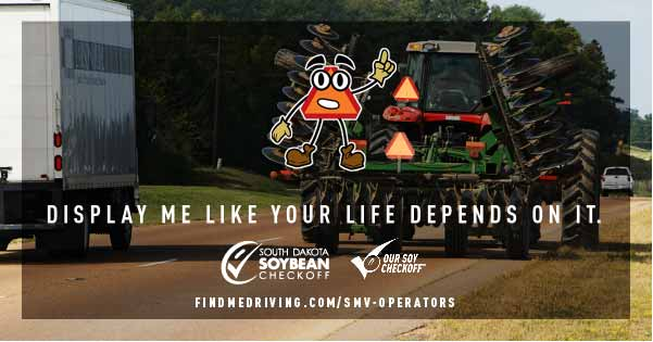 Road safety campaign highlights awareness of farm equipment drivers