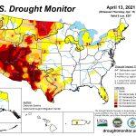 U.S. Drought Monitor: Tale of Two Regions