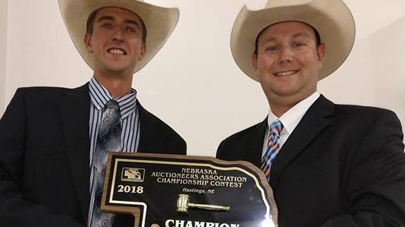 Nebraska Auctioneers Association plan contest during convention