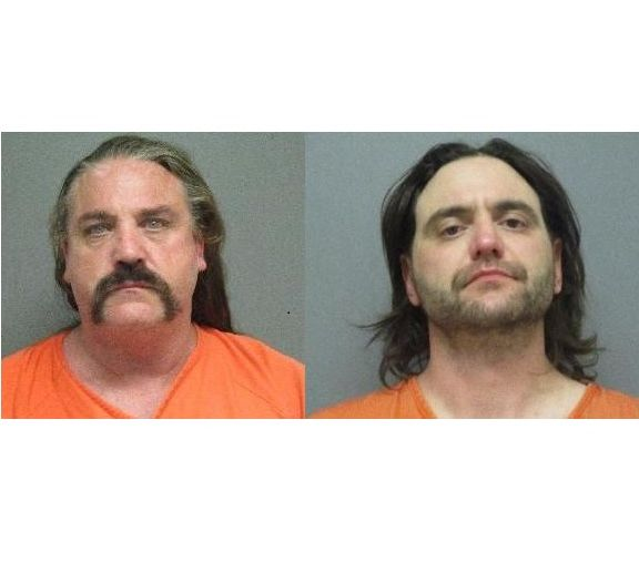 Two men face weapons and drug charges in Overton search