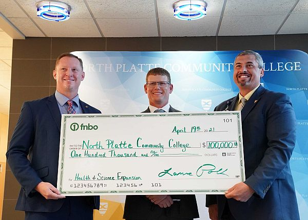 First National Bank of Omaha donates $100,000 to NPCC Health and Science Center