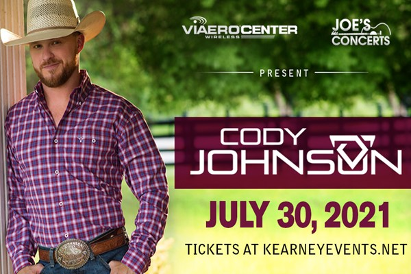 Cody Johnson to play the Viaero Center!!