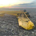 Pilotless plane crash in rural Merrick County