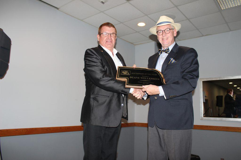 Nebraska Auctioneers name 2021 auctioneer of the year