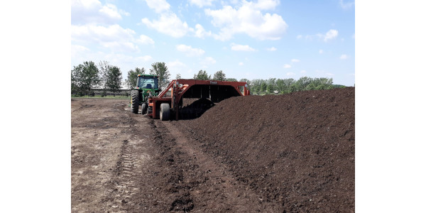 Livestock composting can be a beneficial practice