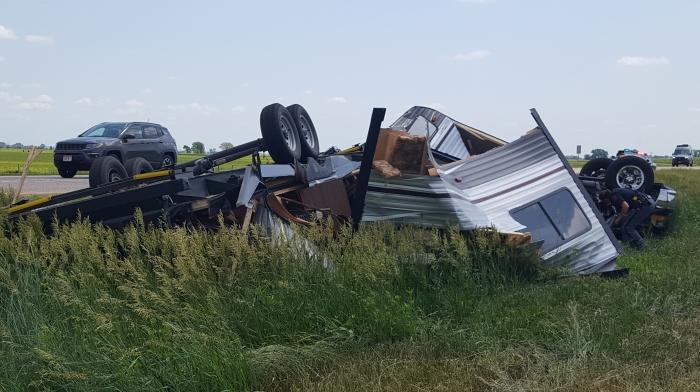 Victim of rollover crash east of Lexington identified