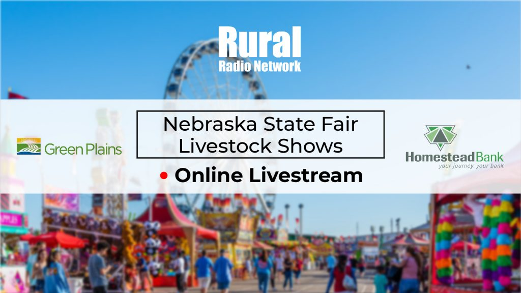 Livestream: Nebraska State Fair Livestock Shows