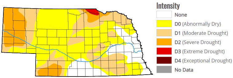 Drought Central important resource for Nebraska farmers as drought conditions intensify