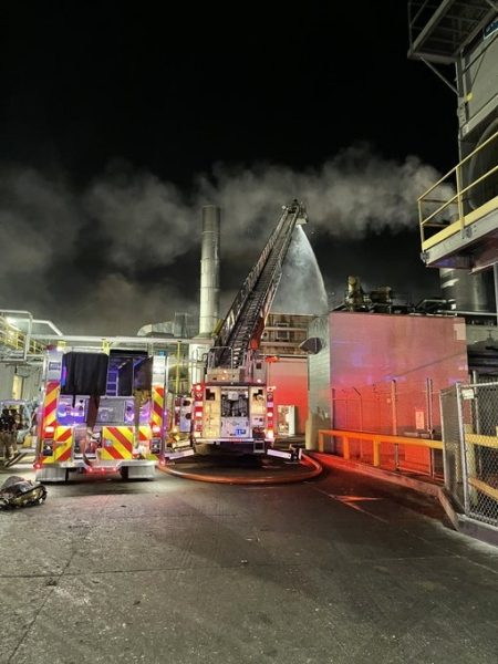 Grand Island firefighters contain fire at JBS, company to resume operations at the plant Tuesday
