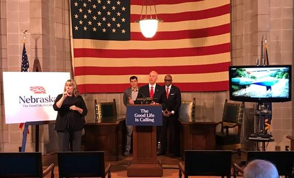 """Nebraska Launches """"The Good Life is Calling"""" Campaign to Draw Talent to the State"""