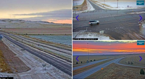 Panhandle gets first snow of the season