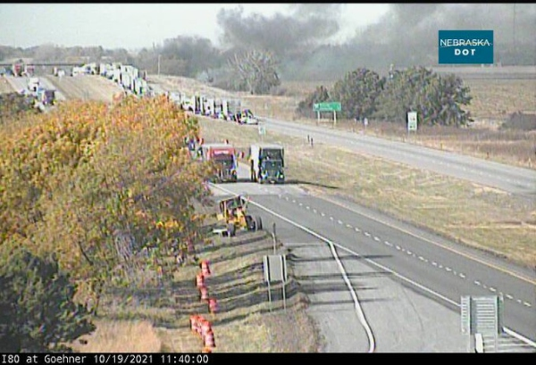 Two semi drivers die in crash that closed westbound I-80